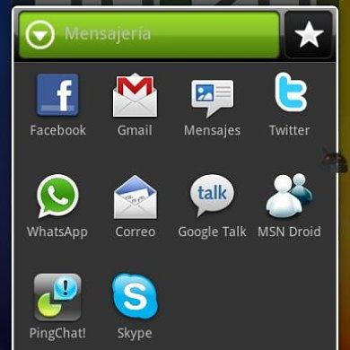 HomeShortcut – HTC Sense Skin Style for Android