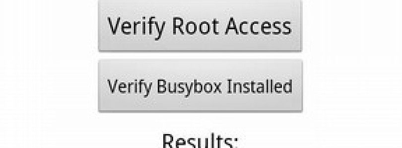 Root Checker Application