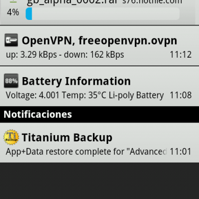 How To Free OpenVPN Connection On Xperia X10