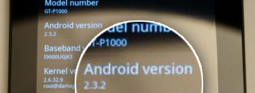 CyanogenMod 7 with Gingerbread Now Available for Galaxy Tab