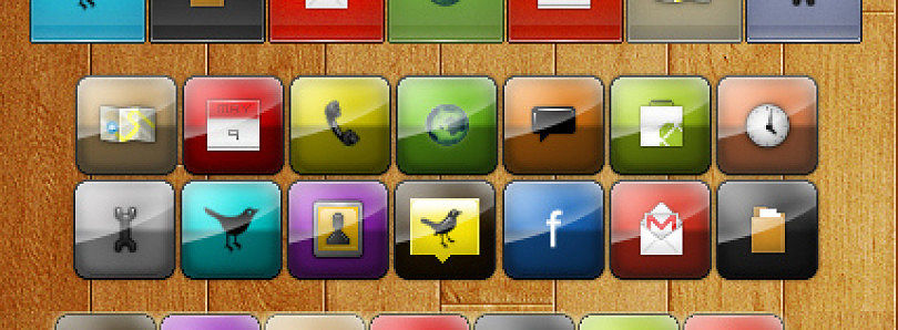 Unified Icon Sets for Android Home Screens
