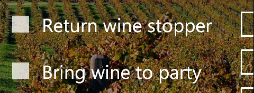 Manage Tasks with Bring the Wine for Windows Phone 7