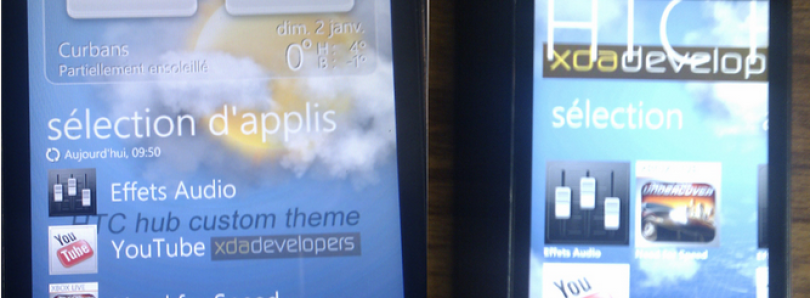 Make a Custome Theme for HTC Hub in WP7