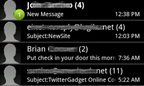 Inverted HTC Messaging Application (mms.apk) for Android