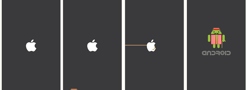 Make Every Boot-Up More Enjoyable With This Android vs Apple Boot Animation