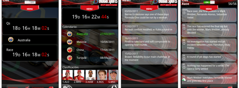 F1 2011 Available Now for Windows Mobile