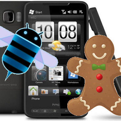 HTC HD2 Checks-In at the Honeycomb Party, Sensefully Steals Several Gingerbread Cookies