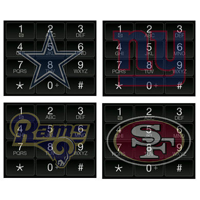 Show Your Team Spirit With NFL Dialpad Skins for your WVGA Windows Mobile Device