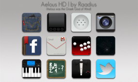 Icon Set Aelous HD for Android
