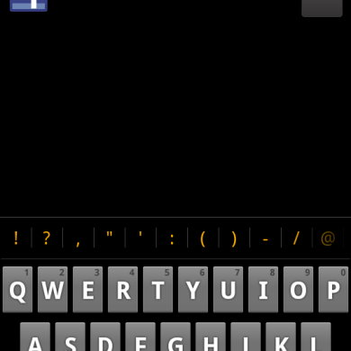 Gingerbread Keyboard Tweaked For Atrix