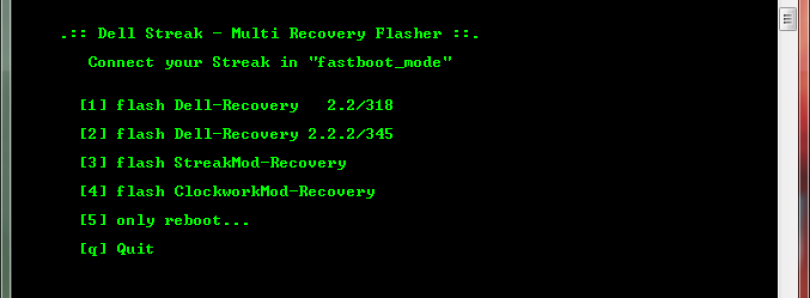 MultiRecoveryFlasher Tool For Streak