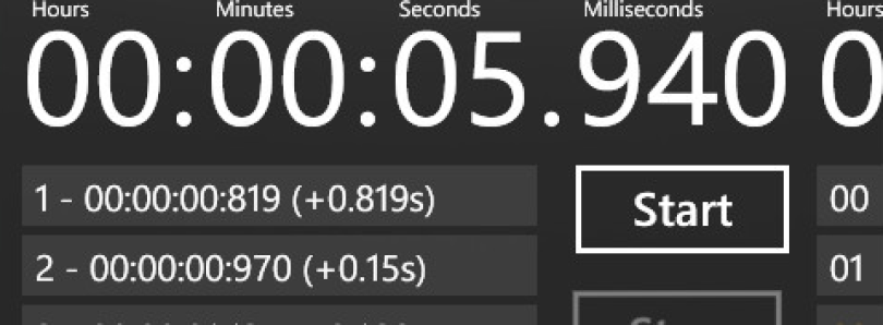 Easy Timer for Windows Phone 7 Updated