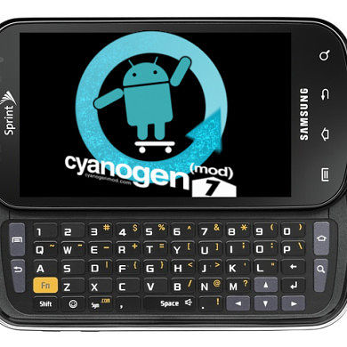 CyanogenMod7 Alpha 1 Released for the Samsung Epic 4G