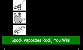 Rock, Paper, Spock for Windows Phone 7