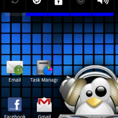 Xperia Arc Launcher Modified For Fascinate