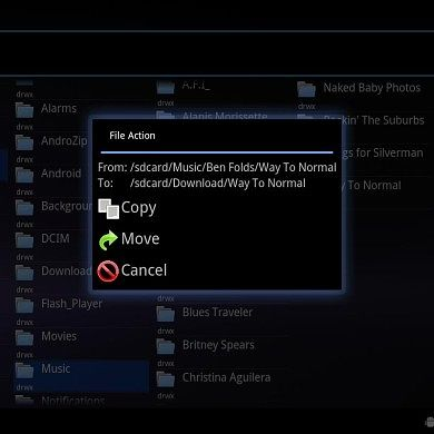 Columnar File Manager Released For XOOM