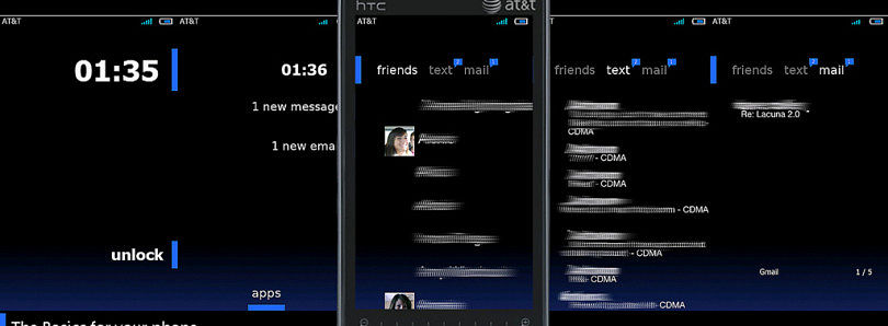 Theme Lacuna v2.0 for Windows Mobile