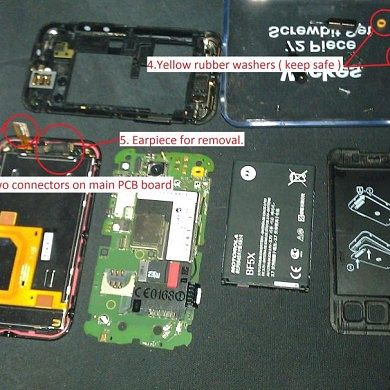 How To Replace Your Motorola Defy Earpiece