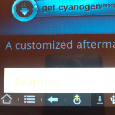 Tablet Tweaks RC2 for CyanogenMod Brings Your Tablet Honeycomb-Inspired Soft Keys