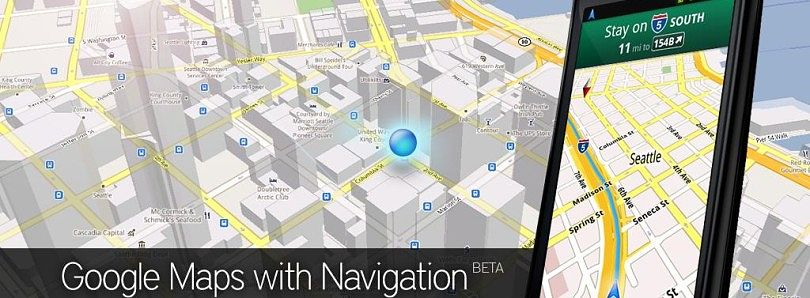 Google Maps 5.2.1 With Navigation Unlocked for Android