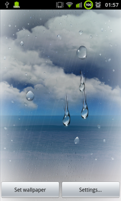 Auto Updating Weather Wallpapers From Galaxy S II
