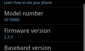Overscroll Glow Ported To Gingerbread XXJVK On Galaxy S