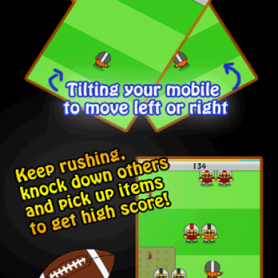 Dodge Enemies With Football Rush Game For Android