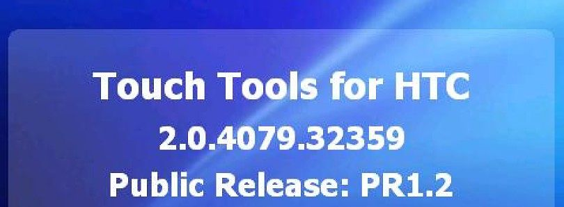 New Version of Touch Tools for Windows Mobile Now Available