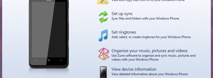 Windows Phone Device Manager for Windows Phone 7