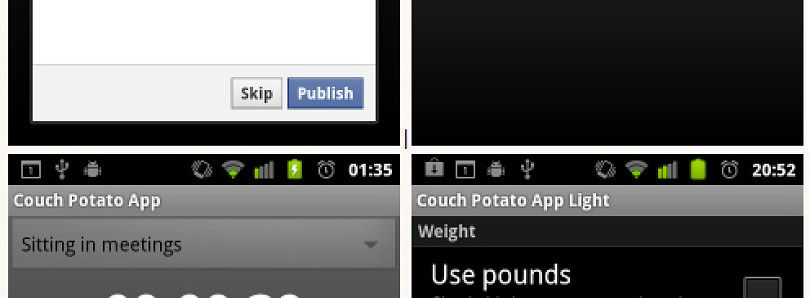 Revel in Your Sedentary Ways With Pride Thanks to CouchPotatoApp for Android