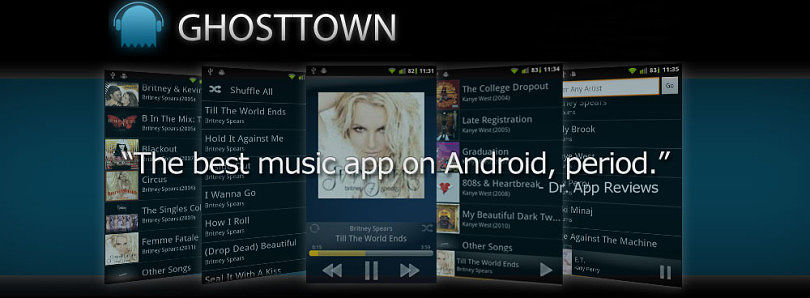 Streaming Music Just Became Easier With Ghosttown