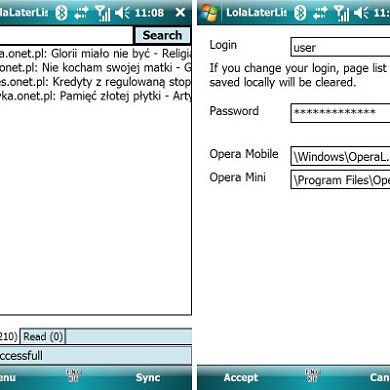 """Read """"It"""" Later with LolaLaterList for Windows Mobile"""