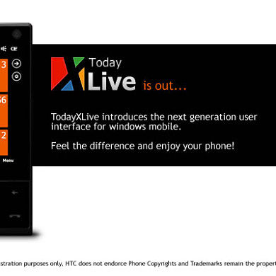 TodayXLive Gives You A WP7 Feel On WM6.1+