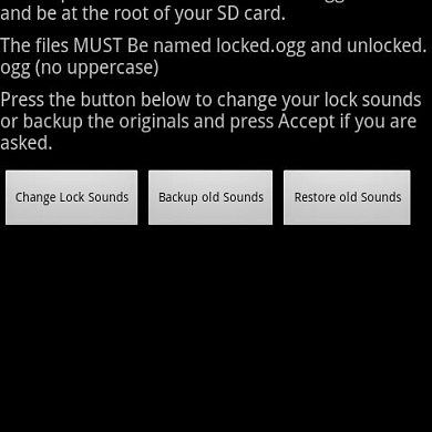 Have Some Fun With Your Lockscreen – Lock Sound Changer for Android