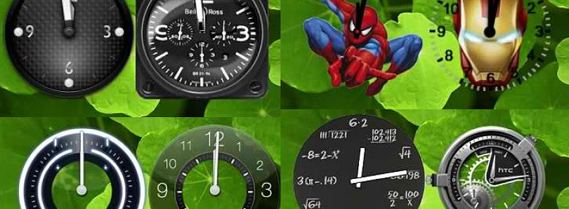 Spice Up Your Home Screens with Fer Analog Clock Pack for Android