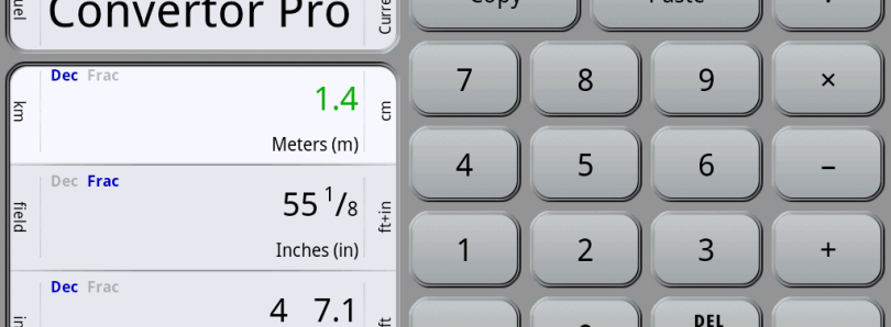 Convert Most Units Quickly With Convertor Pro for Android