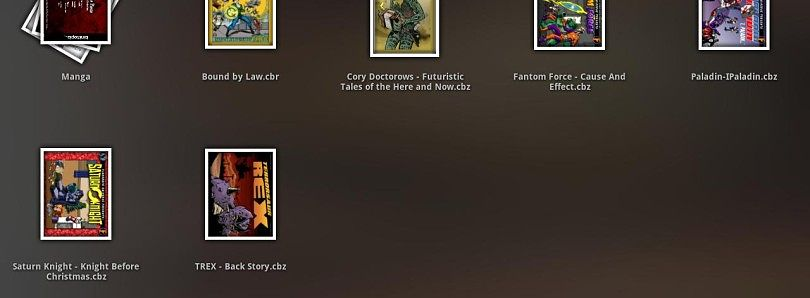 Read Your Komiks in Style With Komik CBR/CBZ Reader for Honeycomb!