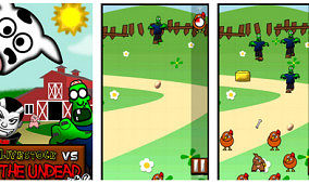 Defend the Farm From the Undead with Livestock vs the Undead for Android