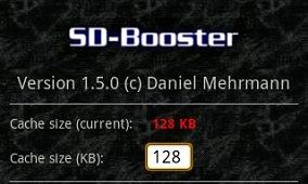 SD Booster For Android Updated to 1.5