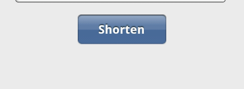 Shorten URL's Easily With Unofficial goo.gl App