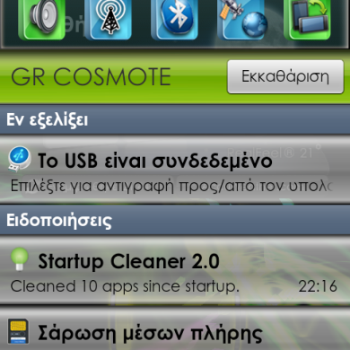 Noticon Theme For LG Optimus 2x