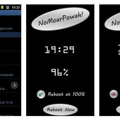 Replace Your Samsung Device's Charging Screen with NoMoarPowah!