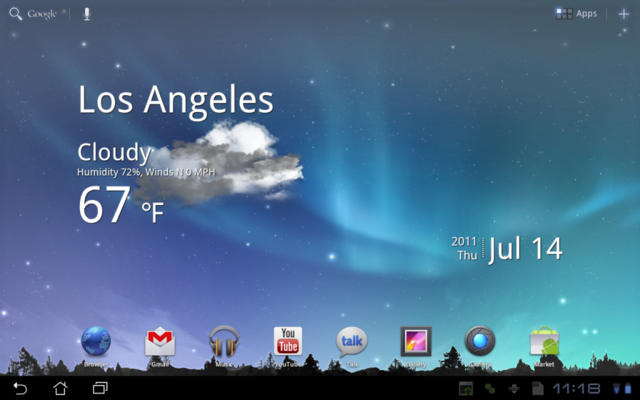 Wallpaper For Galaxy Tab: Live Wallpapers Extracted From Galaxy Tab 10.1 And Ready