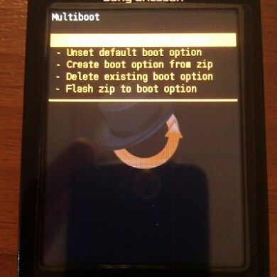 Multiboot Option for X10 Mini