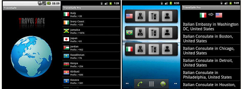 Always Have Foreign Emergency Numbers At Hand With TravelSafe For Android