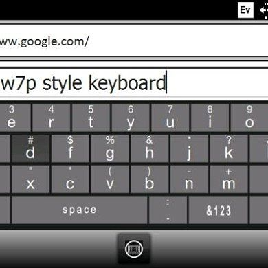 Revitalize Your WM6 Phone With This WP7 Keyboard Skin!