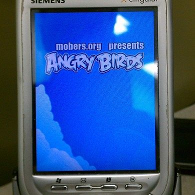 Play Angry Birds…. On Your Blue Angel (No Android Required!)