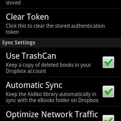 Sync Your Books Across Devices With Aldiko Sync