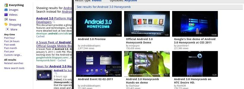 New Concept For Hardcore Browsing – Introducing Dual Screen Browser For Honeycomb