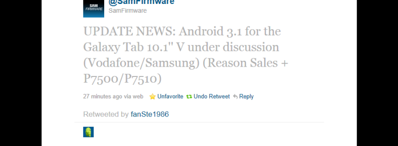 Galaxy Tab 10.1v Getting Official Updates (Finally)